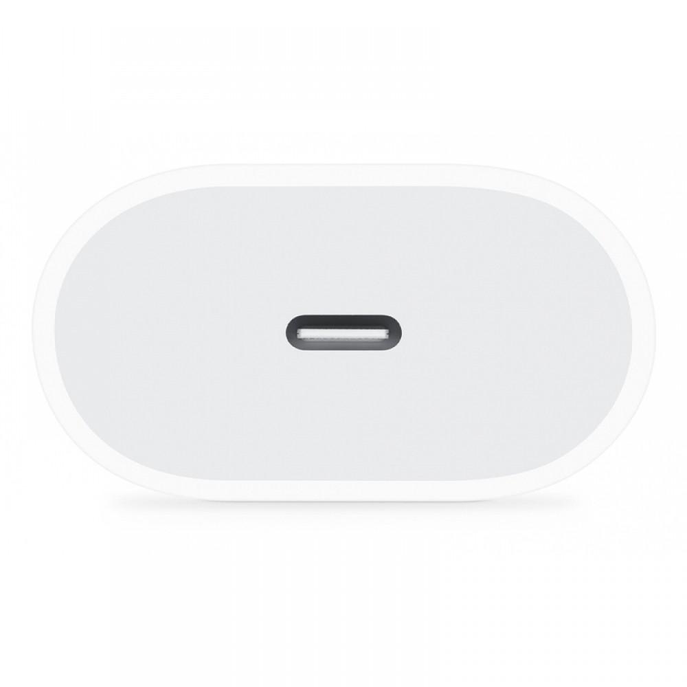 Apple USB-C Power Adapter 18W MU7V2ZM/A (Blister) (Άσπρο)