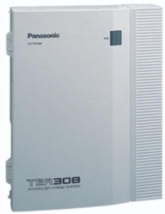 Τηλεφωνικό κέντρο Panasonic kx-tea308 (ΜΕΤΑΧΕΙΡΙΣΜΕΝΟ)