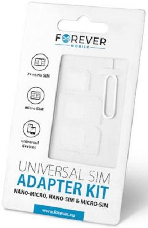 Forever 3 IN 1 SIM adapter kit